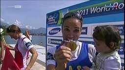 Fabiana Beltrame critica a falta de um legado olímpico para o remo