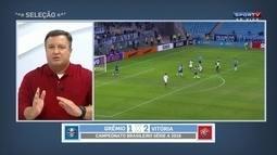 """Thiago Mastroiani elogia Vitória contra o Grêmio: """"Fez uma bela partida"""""""
