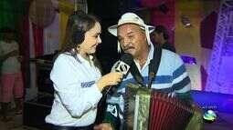Clemilda é homenageada pelo filho no Forró Caju