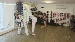 Taekwondo de Santos representa a seleção brasileira em competições no México