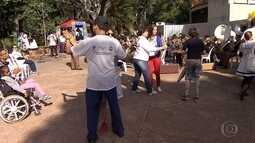 Grupo participa de evento em Belo Horizonte contra a violência