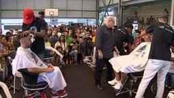 Espaço Criança Esperança vira palco para 'Batalha dos Barbeiros' em Belo Horizonte