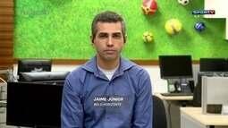 """Jaime Jr. analisa crescimento do Galo: """"Mais encorpado"""""""