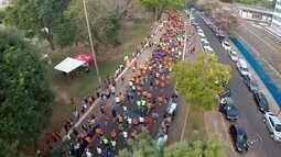 TEM Running reúne centenas de atletas no Parque Vitória Régia em Bauru