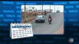 Vistoria do Calendário mostra que após reclamações e denúncias via é asfaltada