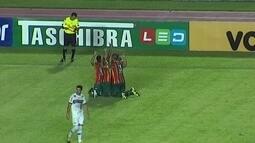 Os gols de Sampaio Corrêa 3 x 1 Tupi-Mg pela 13ª rodada da série B do Brasileirão