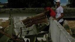 Defesa Civil fiscaliza prédio abandonado da Deic para exterminar focos do Aedes aegypit