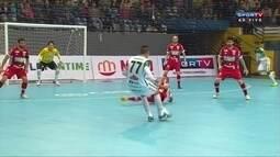 Os gols de Marreco Futsal 1 x 1 Concórdia pela Liga Futsal
