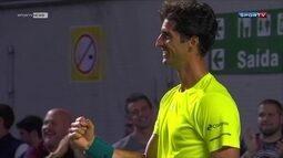 Thomaz Bellucci vence equatoriano e garante o Brasil na repescagem da Copa Davis