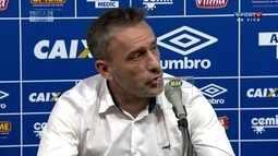 """Paulo Bento comemora classificação do Cruzeiro na Copa do Brasil: """"Objetivo cumprido"""""""