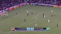 Atlético-PR e Chapecoense empatam no primeiro jogo da 2ª fase da Copa do Brasil