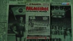 Redação AM - Rádio Continental Oduvaldo Cozzi - Palmeiras x Juventus - Copa Rio de 1951