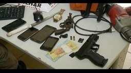 Duas mulheres e três menores são detidos acusados de roubos em MG