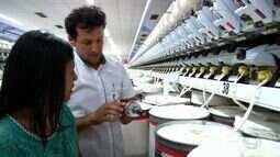 Produção e beneficiamento de algodão são curiosidades para costureira
