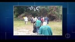 Operação detém grupo suspeito de crime ambiental em Tamoios, distrito de Cabo Frio, no RJ