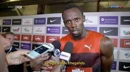 Bolt corre nos 200m na Liga Diamante e garante vaga nos Jogos do Rio