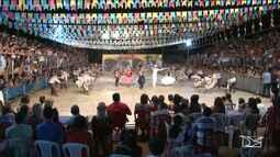 Quadrilha junina representa o Maranhão em festival nacional