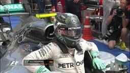 Rosberg faz a pole para o GP da Hungria; Massa bate e larga mal