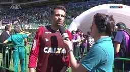Victor diz que vitória sobre o Palmeiras consolida o Atlético-MG na tabela do Brasileiro