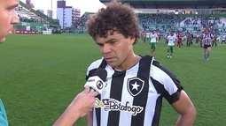 Camilo lamenta falta de atenção do Botafogo ao sofrer segundo gol da Chapecoense