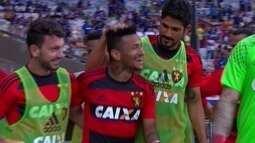 Os gols de Cruzeiro 1 x 2 Sport pela 16ª rodada do Brasileiro