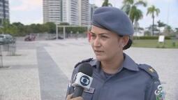 Mais de 10 adolescentes são detidos após arrastão na Ponta Negra, no AM