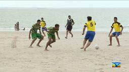 Copa Seac de futebol de areia agita as praias de São Luís