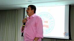 TV Bahêa - Veja como foi a palestra sobre audiência e redes sociais do Bahia