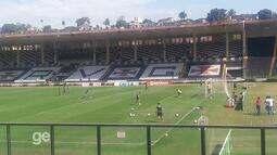 Confira alguns lances do treino de finalização do Vasco