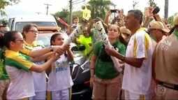 Tocha olímpica chega ao estado do RJ