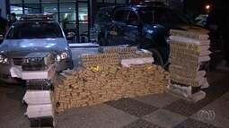 PM apreende 500 kg de maconha em Guapó