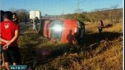 Duas pessoas morrem em acidente na CE 27, entre as cidades de Acopiara e Catarina