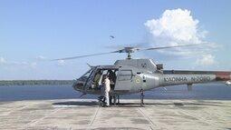 Marinha realiza último treinamento de segurança antes da Olimpíada no AM