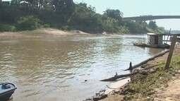 Rio Acre atinge nível mais baixo da história em Rio Branco