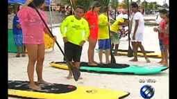 As areias da praia de Marudá são o cenário para o 'É do Pará' deste sábado (30)