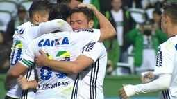 Os gols de Coritiba 3 x 1 Ponte Preta pela 19ª rodada do Brasileirão