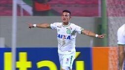 Os gols de América-MG 1 x 2 Chapecoense pela 21ª rodada do Campeonato Brasileiro