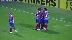 Os gols de Avaí 0 x 3 Bahia pela 20ª rodada da série B do Brasileirão