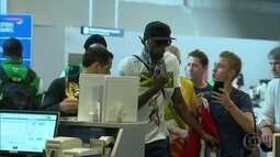 Usain Bolt deixa o Brasil neste domingo (21)