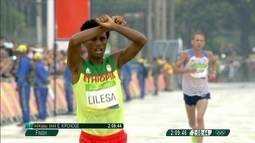 Após protestar na Rio 2016, atleta da Etiópia pede asilo para os Estados Unidos