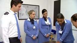 Hora do Trampo: veja oportunidades do mercado de trabalho para comissário de bordo em MS