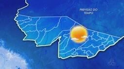 Veja a previsão do tempo para esta quarta-feira (24) no Acre, segundo o Sipam