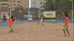 Ídolo das areias e atleta olímpico, Benjamin volta a jogar vôlei de praia em MS