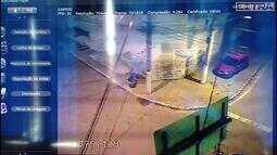 Câmera de segurança é alvejada por 12 tiros em Nilópolis