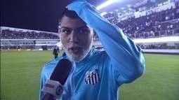 Gabriel diz que Vasco estaria com chances mesmo se não tivesse marcado na Vila Belmiro