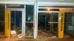 Criminosos invadem banco e explodem cofre em Anhembi