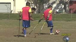 Seleção brasileira de futebol de amputados embarca, nesta quinta-feira, para a Colômbia