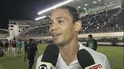Como é? Ricardo Oliveira se enrola ao falar sobre vantagem do Santos na Copa do Brasil