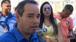 Luis Tibé, candidato à Prefeitura de Belo Horizonte, se encontra com jovens