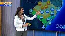 Tempo: chuva pode atingir algumas regiões do RS no fim de semana